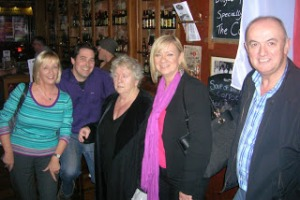 Susan Condon, Mick Halpin, Nell McCafferty, Louise Phillips, Liam Flood