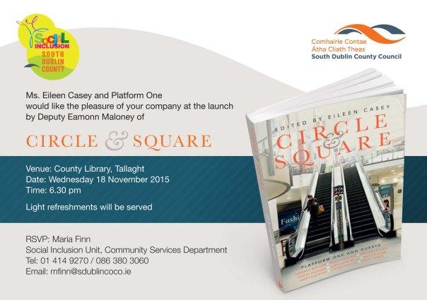 Circle and Square Invitation